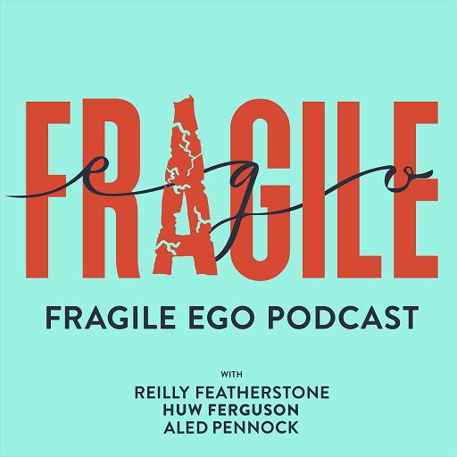 Fragile Egos Podcast Logo